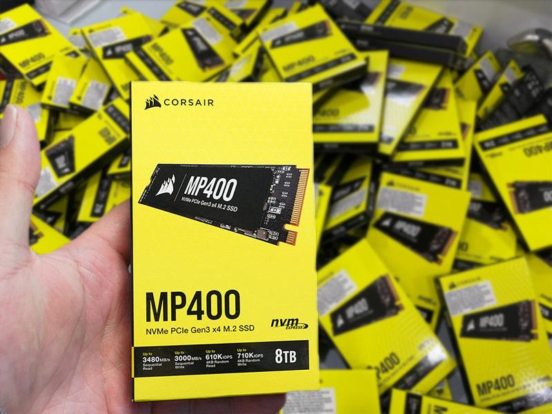 SSD Corsair MP400 8TB