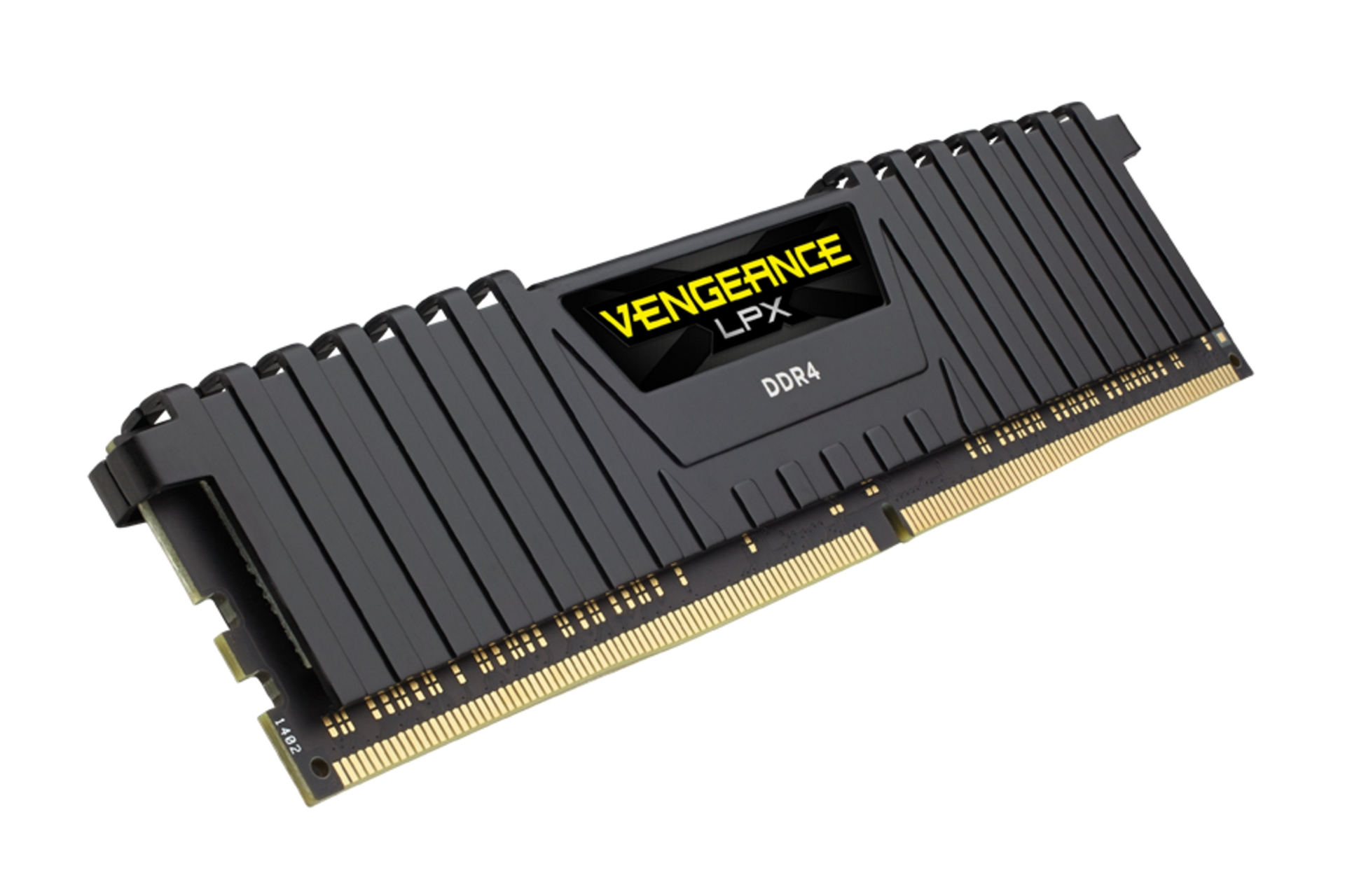 Vengeance LPX Black 16GB với bộ tản nhiệt tối ưu