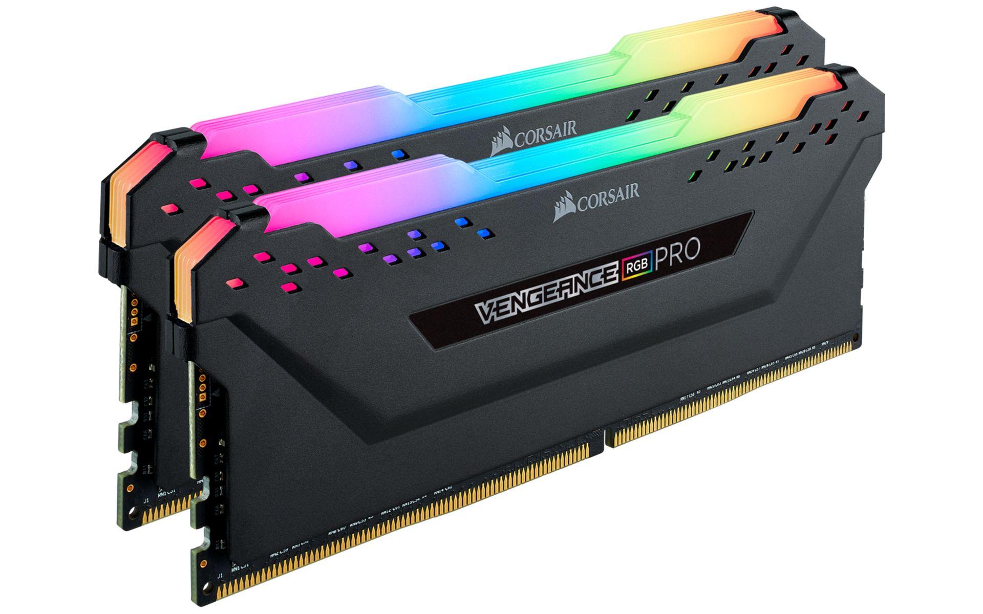 Ram Corsair Vengeance PRO RGB 32GB (2x16GB) DDR4 3600MHz