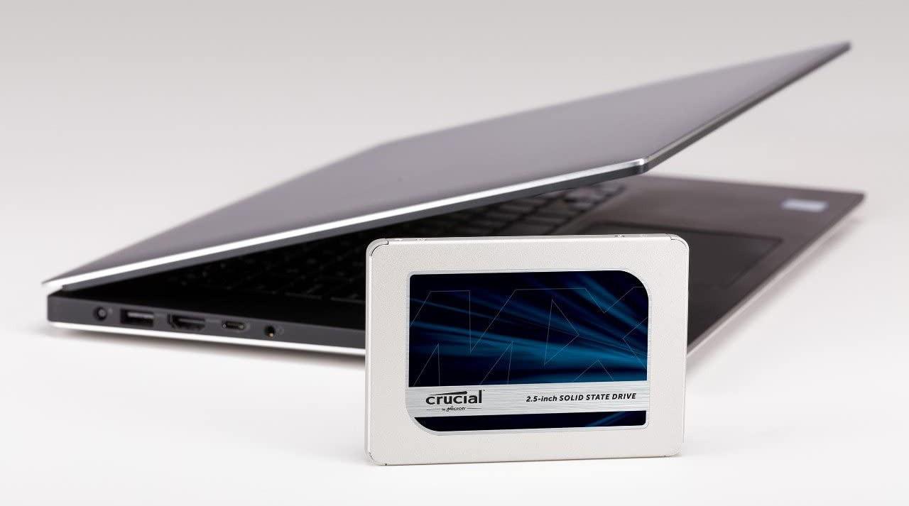 SSD Crucial MX500 3D NAND Sata III với dung lượng 2TB