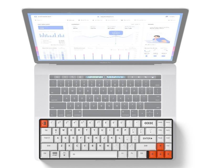 kích thước chỉ gần bằng bàn phím máy tính xách tay 13 inch