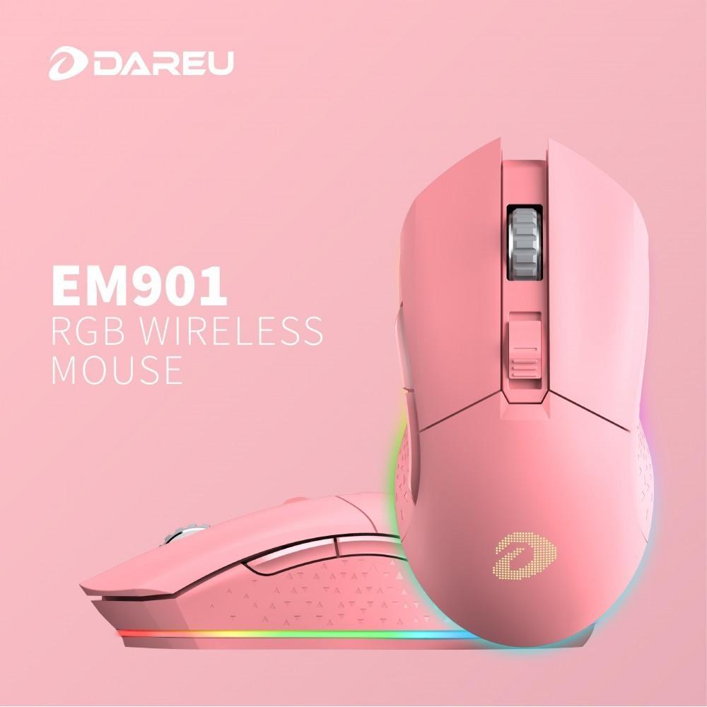 Chuột không dây DareU EM901 Gemini Queen Wireless