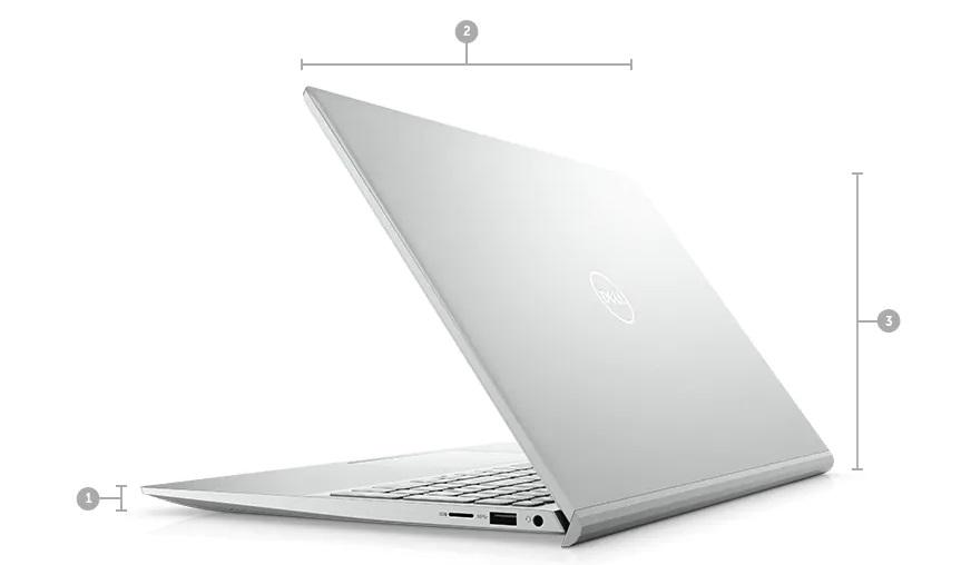 Dell Inspiron 15 5502 1XGR11 Kích thước & Trọng lượng