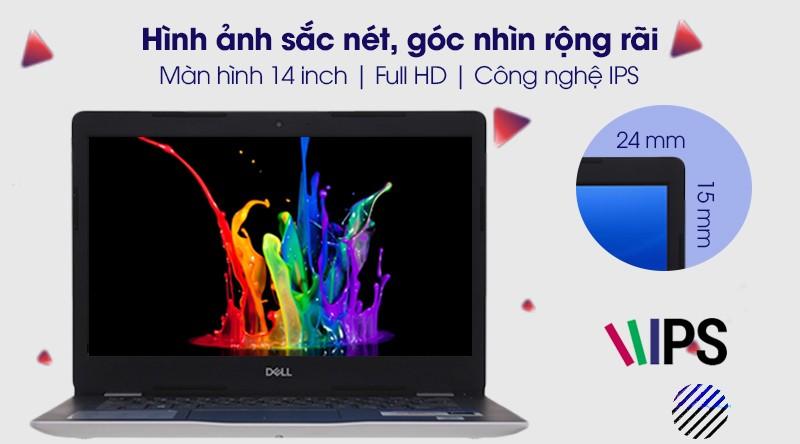 Dell Inspiron 3493 N4I5122WA có màn hình 14 inch Full HD