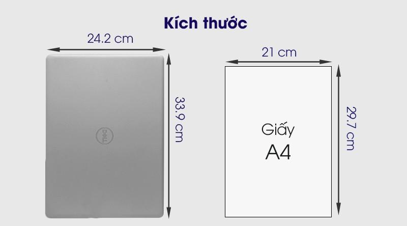 Kích thước Dell Inspiron 3493 N4I5122WA Silver