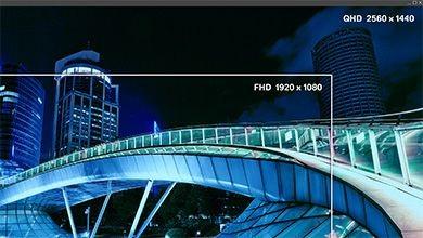 độ phân giải QHD 2560 X 1440