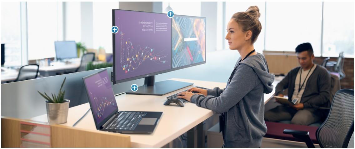 Dell P2720D tối ưu hóa sự thoải mái cho mắt