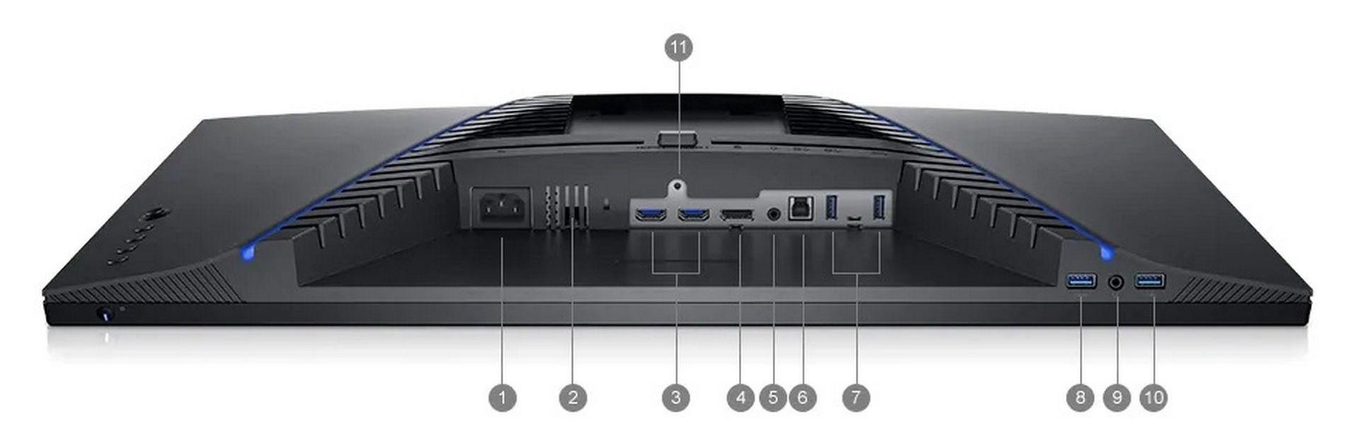 Màn Hình Dell S2721DGF Cổng & Khe cắm