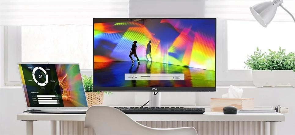 Dell S2721HN được thiết kế để phù hợp với phong cách sống của bạn