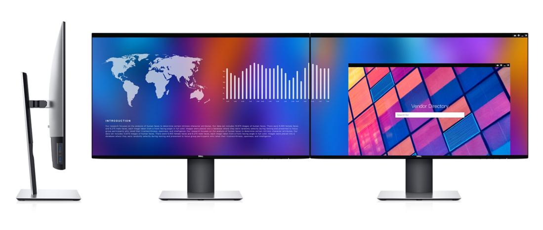 Kết nối hai màn hình Dell U2721DE