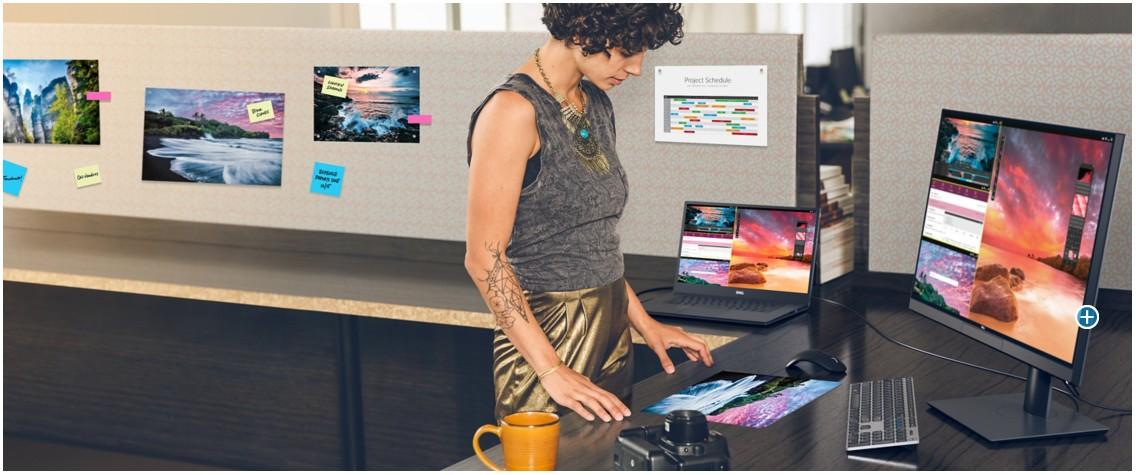 Dell UltraSharp UP2720Q PremierColor Hình ảnh tuyệt vời. Chi tiết tinh tế.
