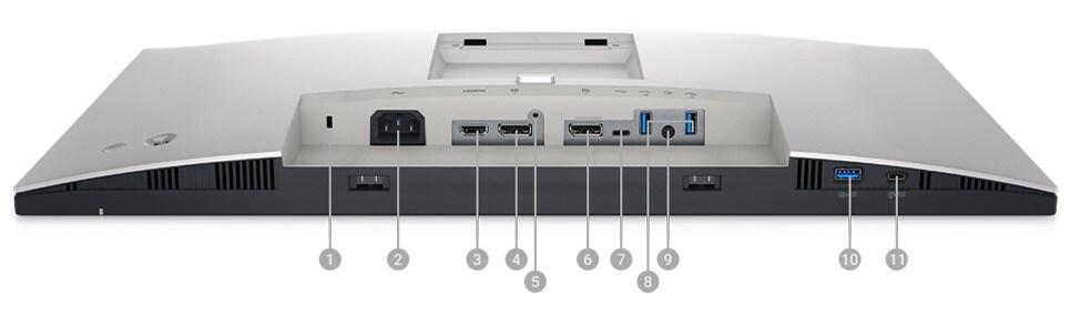 Dell Ultrasharp U2722D IO