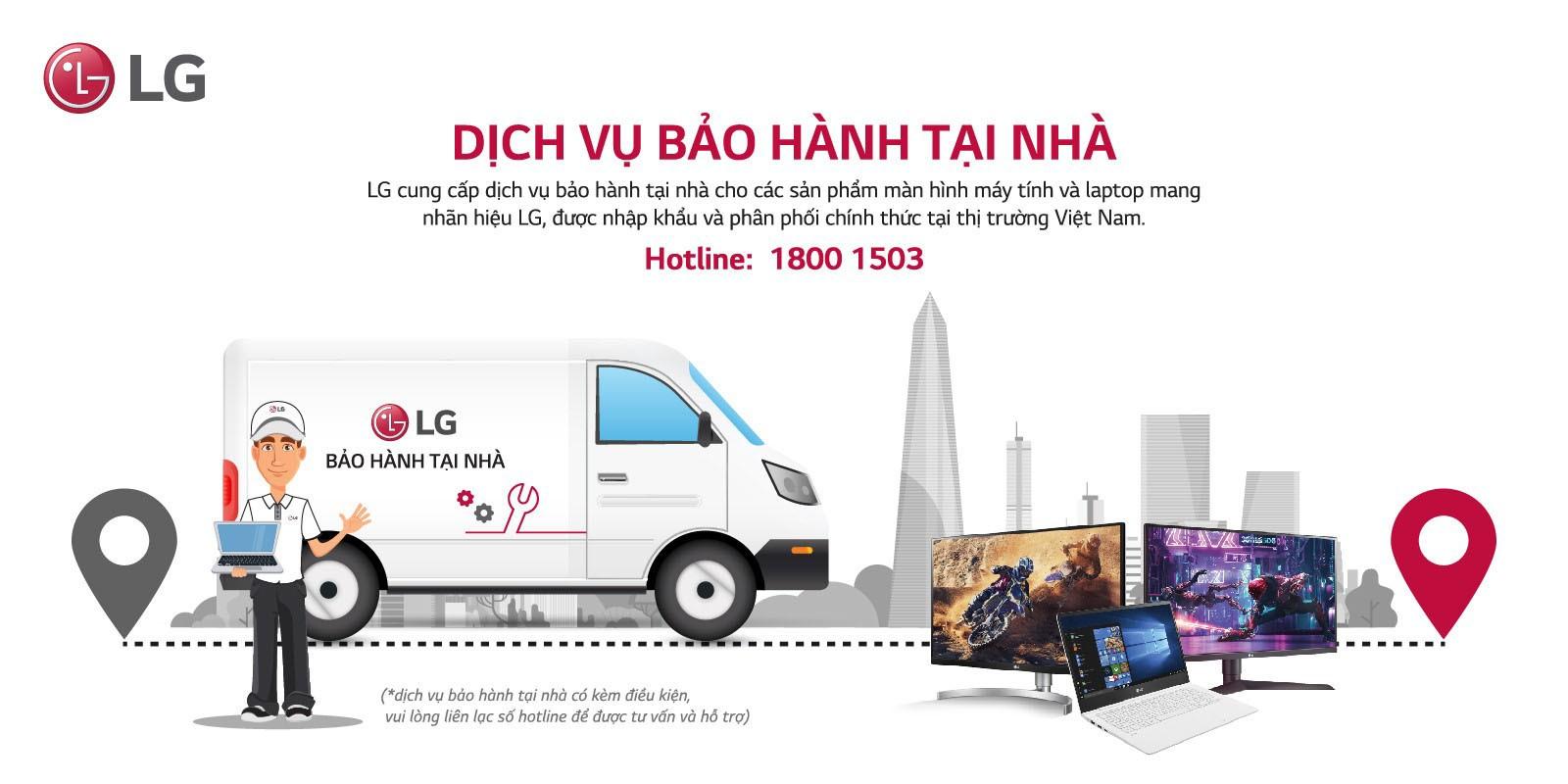 Dịch vụ bảo hành LG