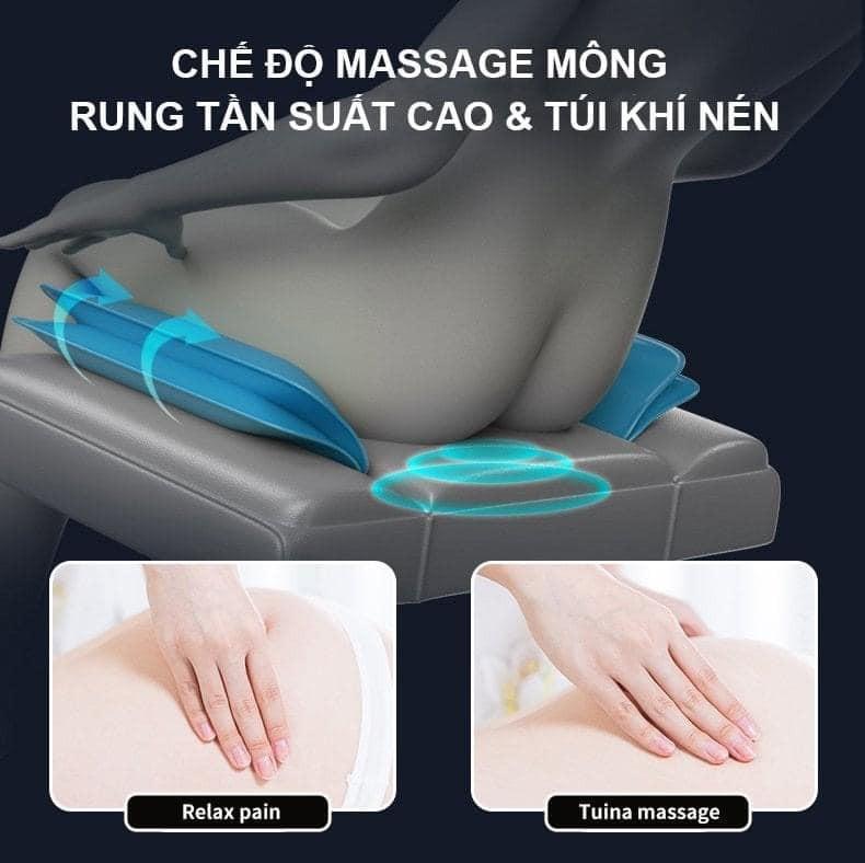 massage mông rung tần suất cao