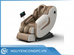 Ghế massage E-Dra Hestia EMC100 - Trắng Nâu