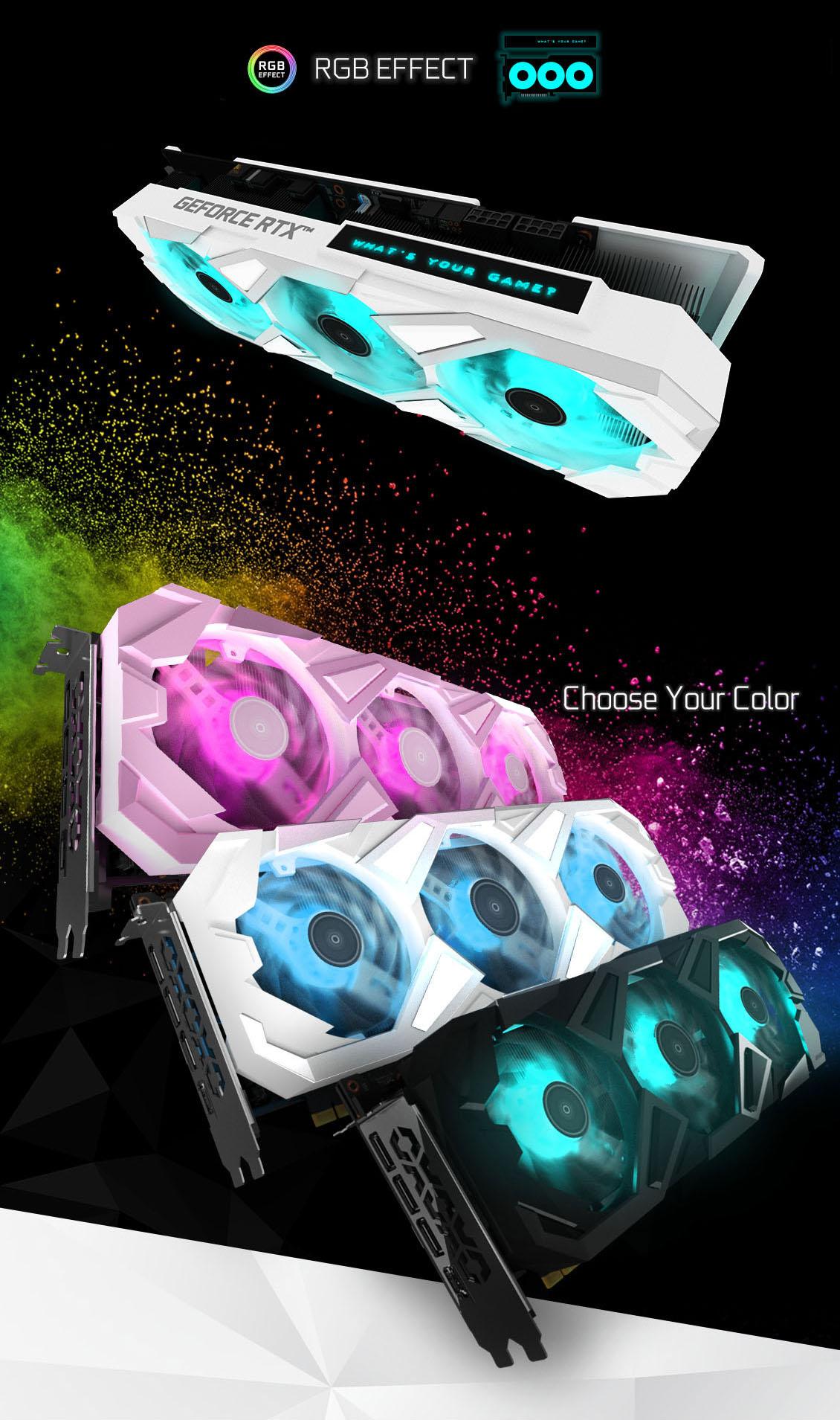 RTX 3080 Ti EXG White RGB