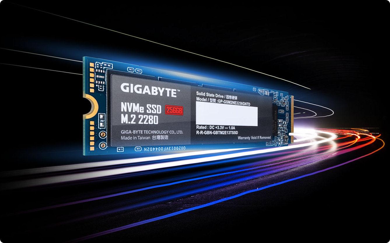 SSD GIGABYTE NVMe 256GB M.2 2280
