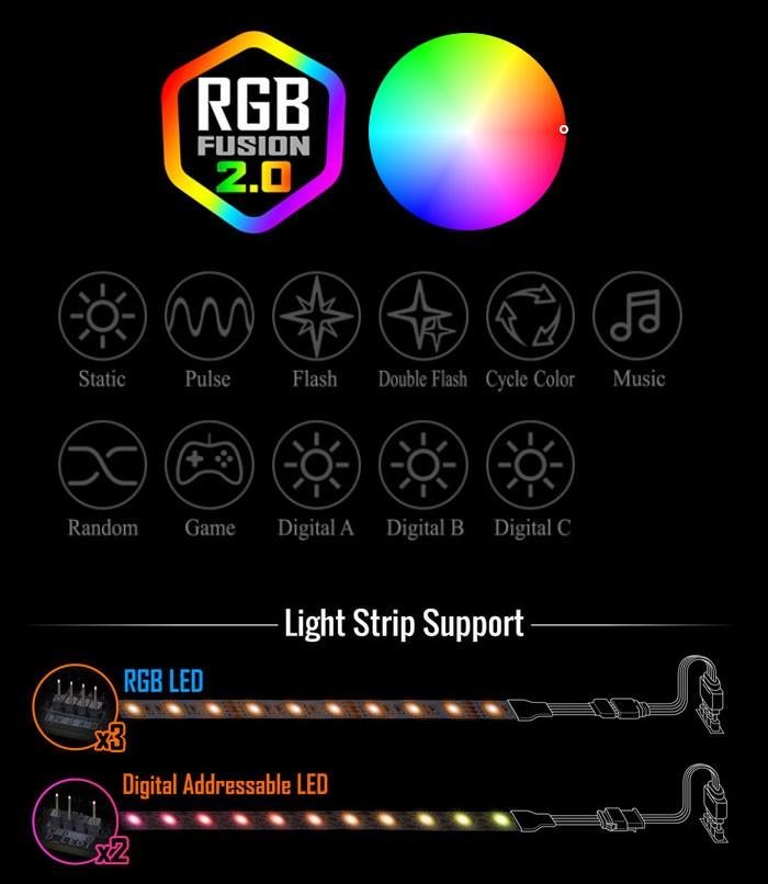 B550M ELITE RGB Fusion 2.0