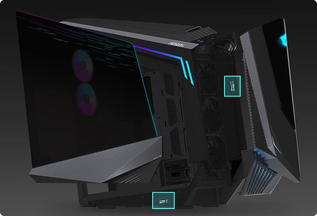 Khả năng nối dài dây RGB bên ngoài tuyệt vời