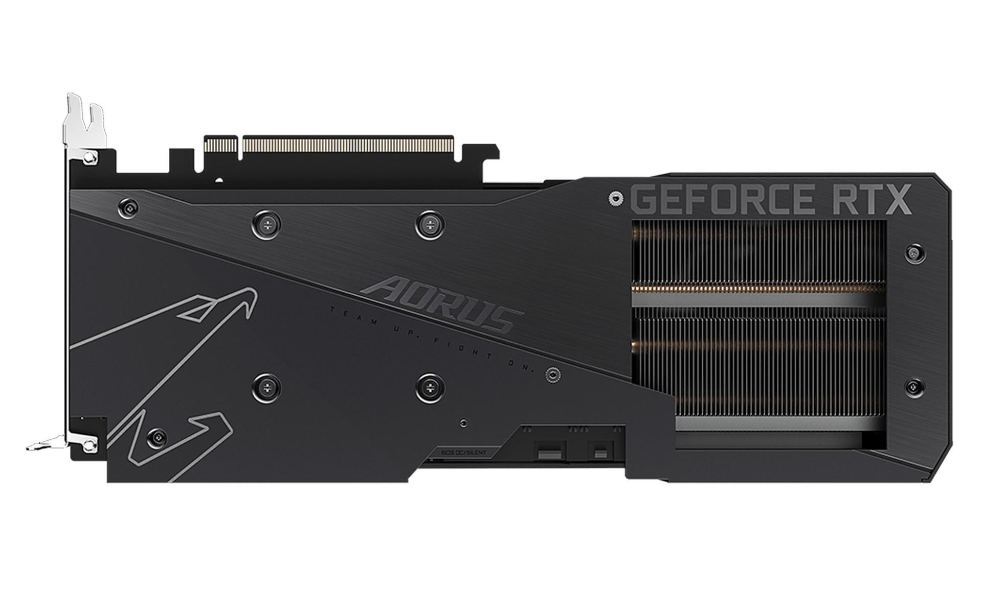 Gigabyte AORUS RTX 3060 ELITE 12G SCREEN COOLING