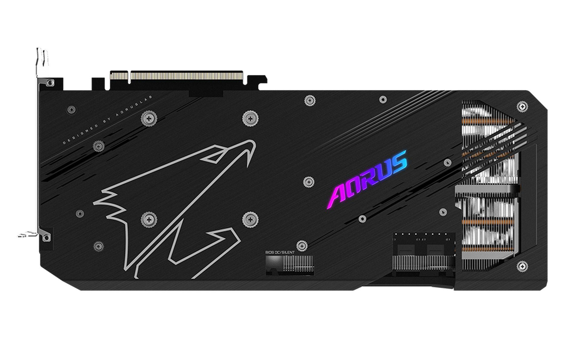 công nghệ làm mát screen cooling của Gigabyte AORUS RX 6800 XT MASTER