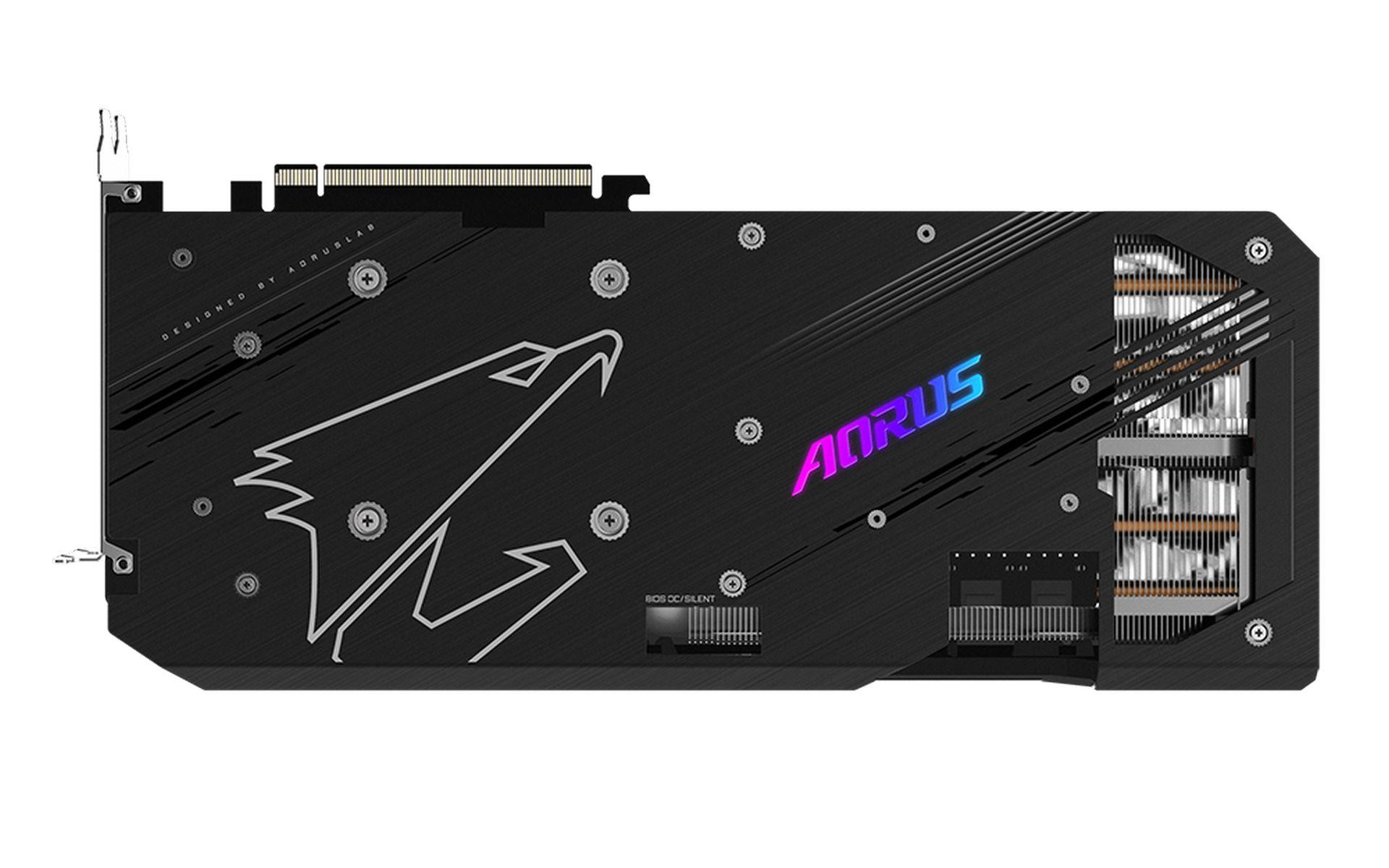 TẤM ỐP LƯNG KIM LOẠI RX 6800 XT AORUS MASTER