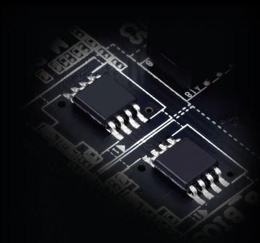 Thiết kế DualBIOS™ được cấp bằng sáng chế của GIGABYTE