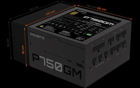 Nguồn máy tính Gigabyte P750GM