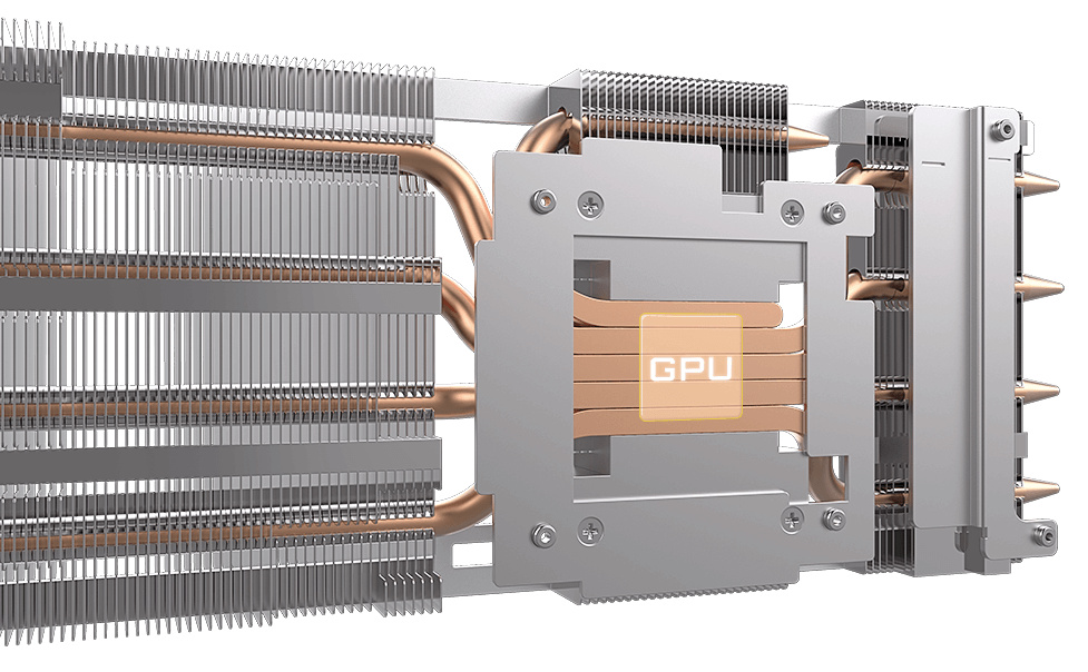 HEAT PIPES DIRECT TOUCH
