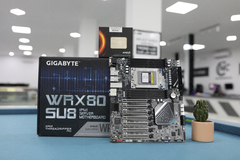 Mainboard Gigabyte WRX80 SU8 IPMI Workstation