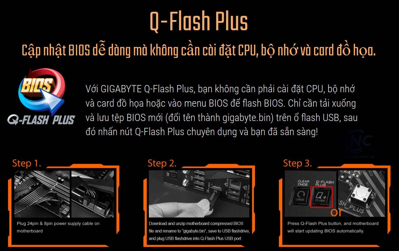 GIGABYTE Q-Flash Plus