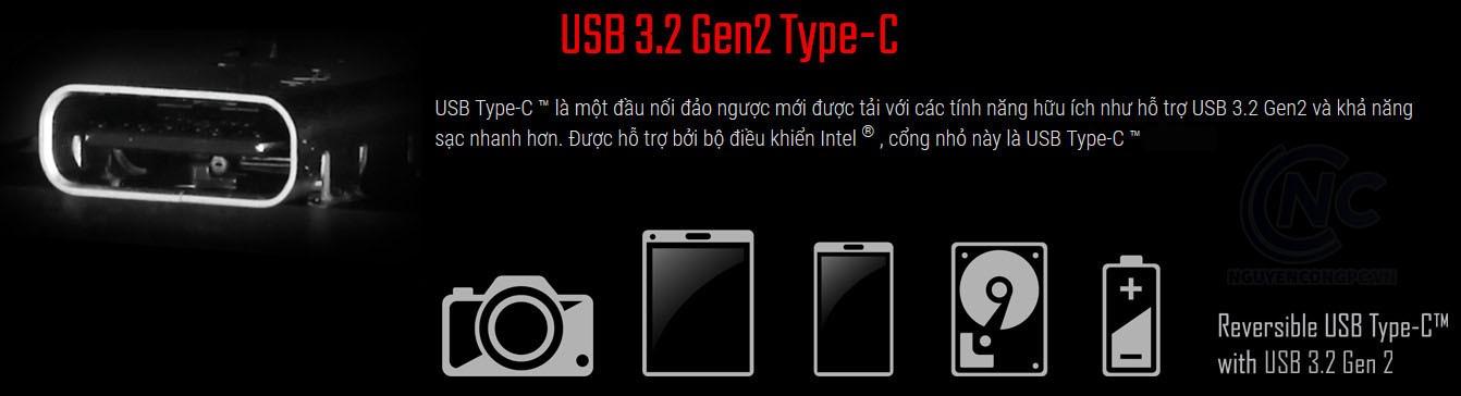 USB 3.2 Gen2 Type-C™: Chuẩn kết nối phổ biến tiếp theo của thế giới