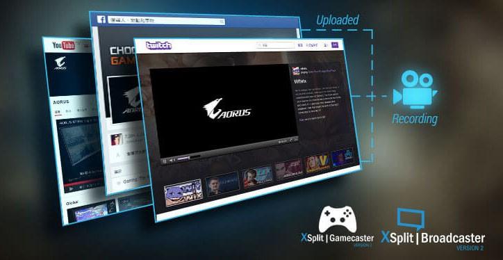 XSplit Gamecaster + Broadcaster