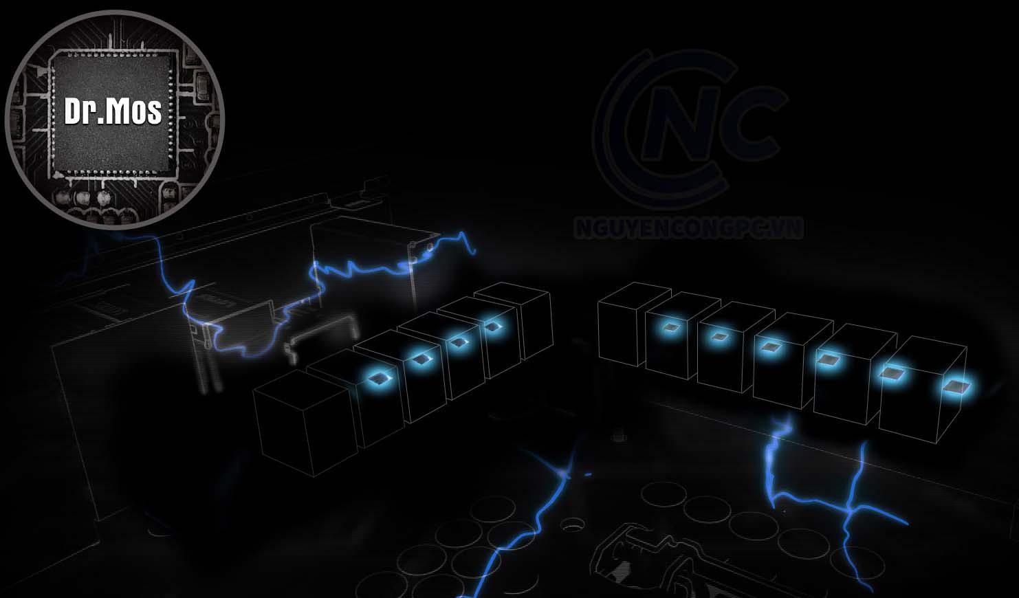 Thiết kế điện 10 pha Dr.MOS 60A