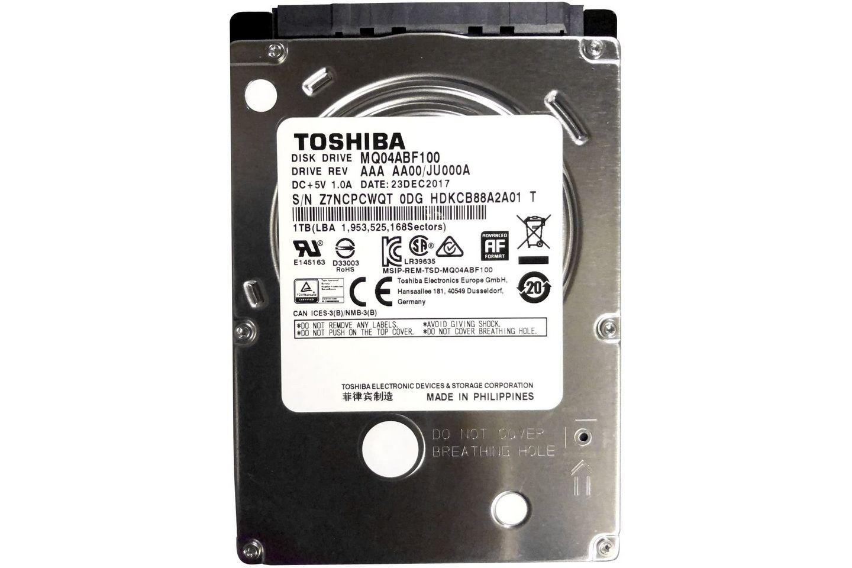 Ổ cứng HDD Laptop 1TB Toshiba MQ04 (128MB Cache/5400rpm)
