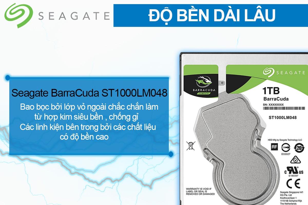 HDD Laptop Seagate Barracuda 1TB do ben