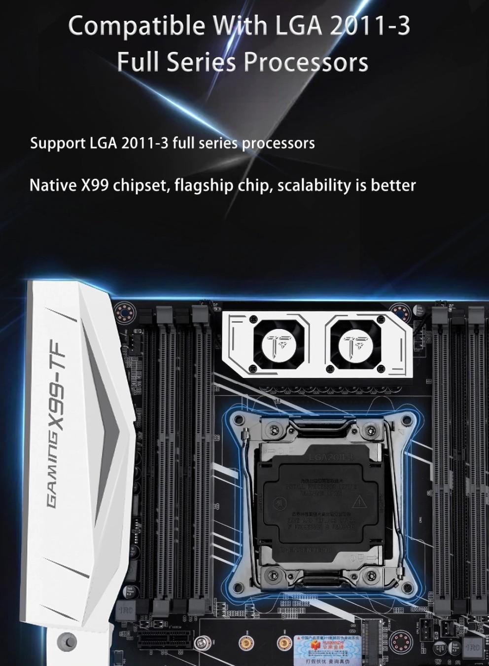 Huananzhi X99-TF Gaming