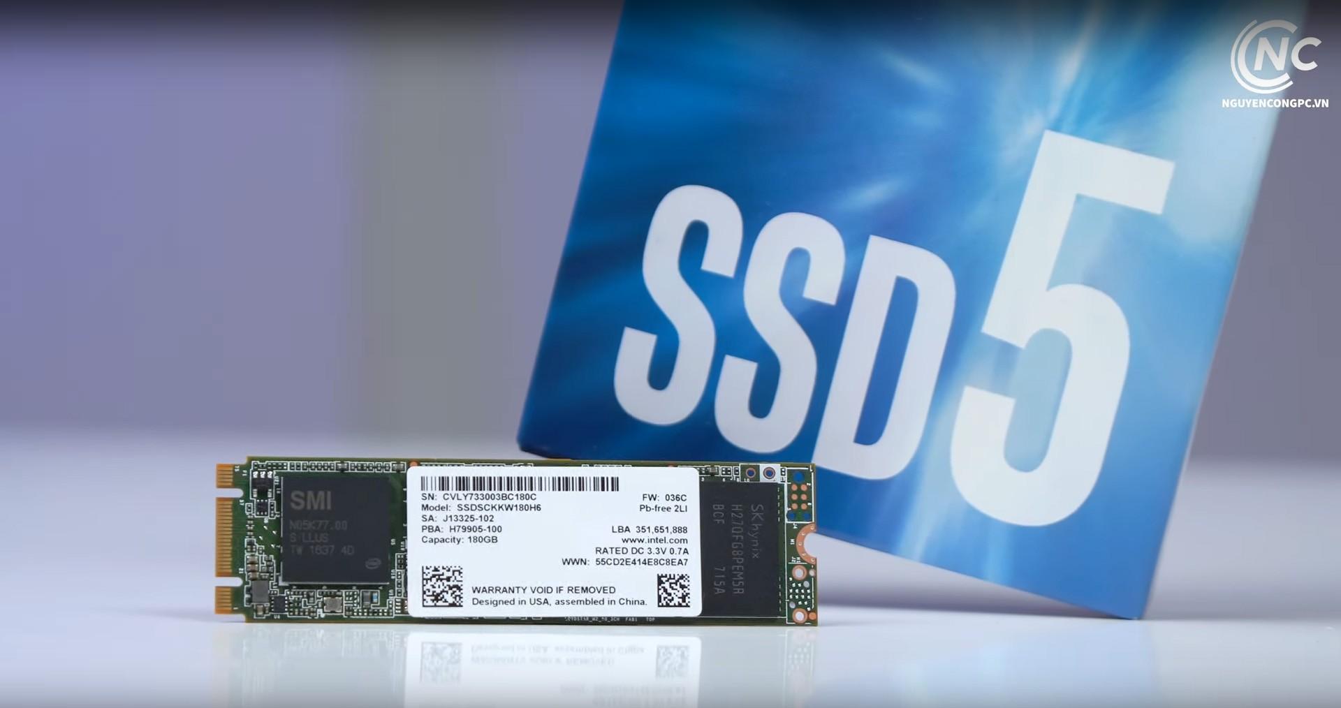 Ổ cứng SSD M2-SATA 180GB Intel 540s 2280