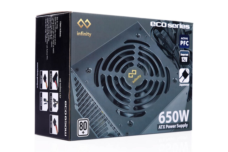 Nguồn Máy Tính Infinity ECO 650W