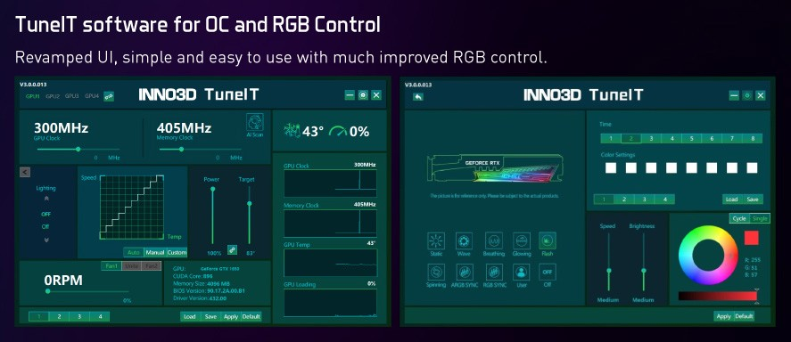 Inno3D RTX 3070 iChill X4 TuneIT