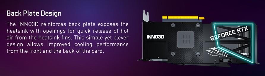 t sau của card đồ họa Inno3D RTX 3080 TWIN X2 OC 10GB GDDR6X