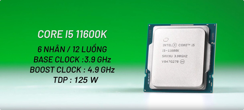 Intel Core i5-11600K Spec