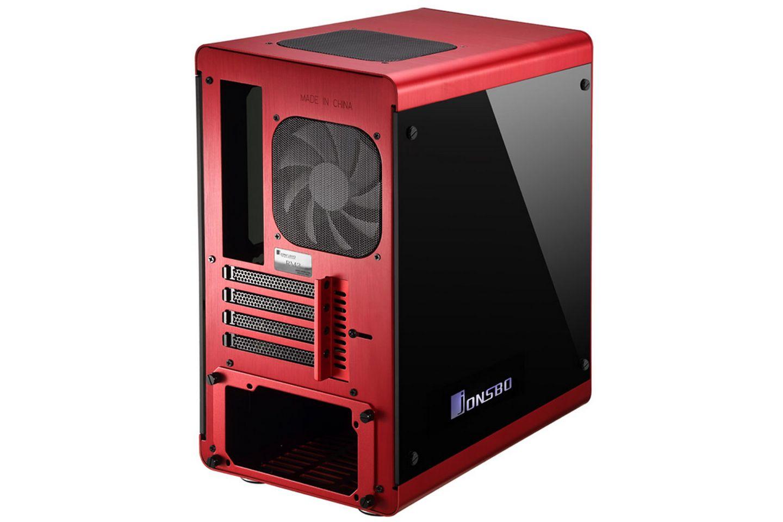 Jonsbo RM3 RED sử dụng vật liệu kính cường lực