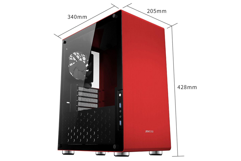 Vỏ máy tính Jonsbo U4 Red