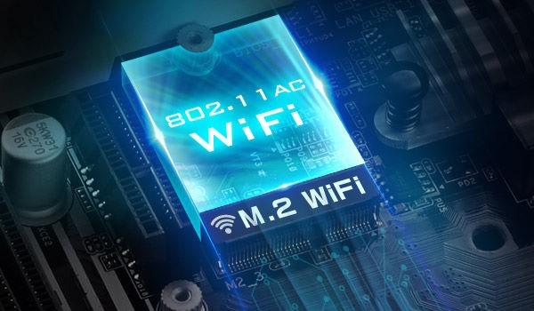 M.2 (KEY E) cho WiFi