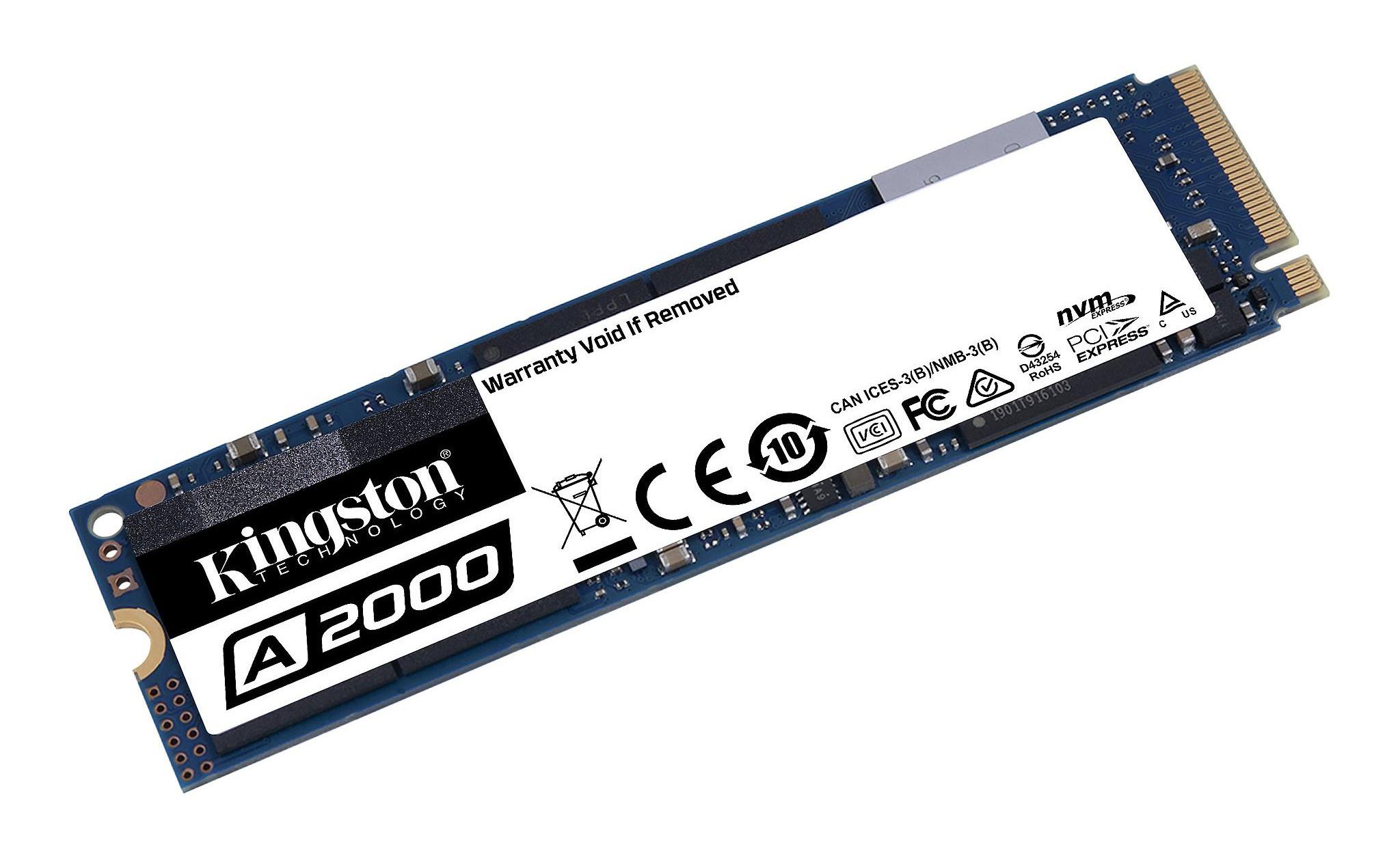 Kingston A2000M8 250GB là ổ tự mã hóa giúp bảo vệ dữ liệu