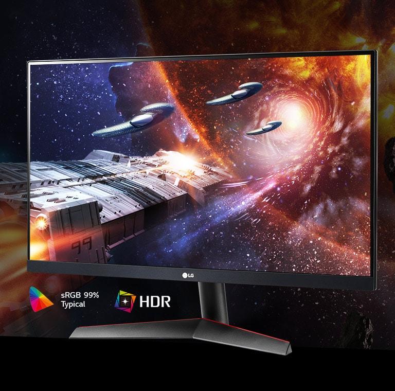 Màn hình LG 24GN600-B hỗ trợ HDR10 với sRGB 99%