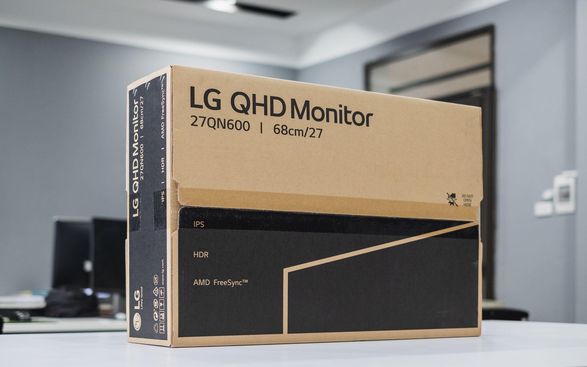 Màn hình LG 27QN600-B box