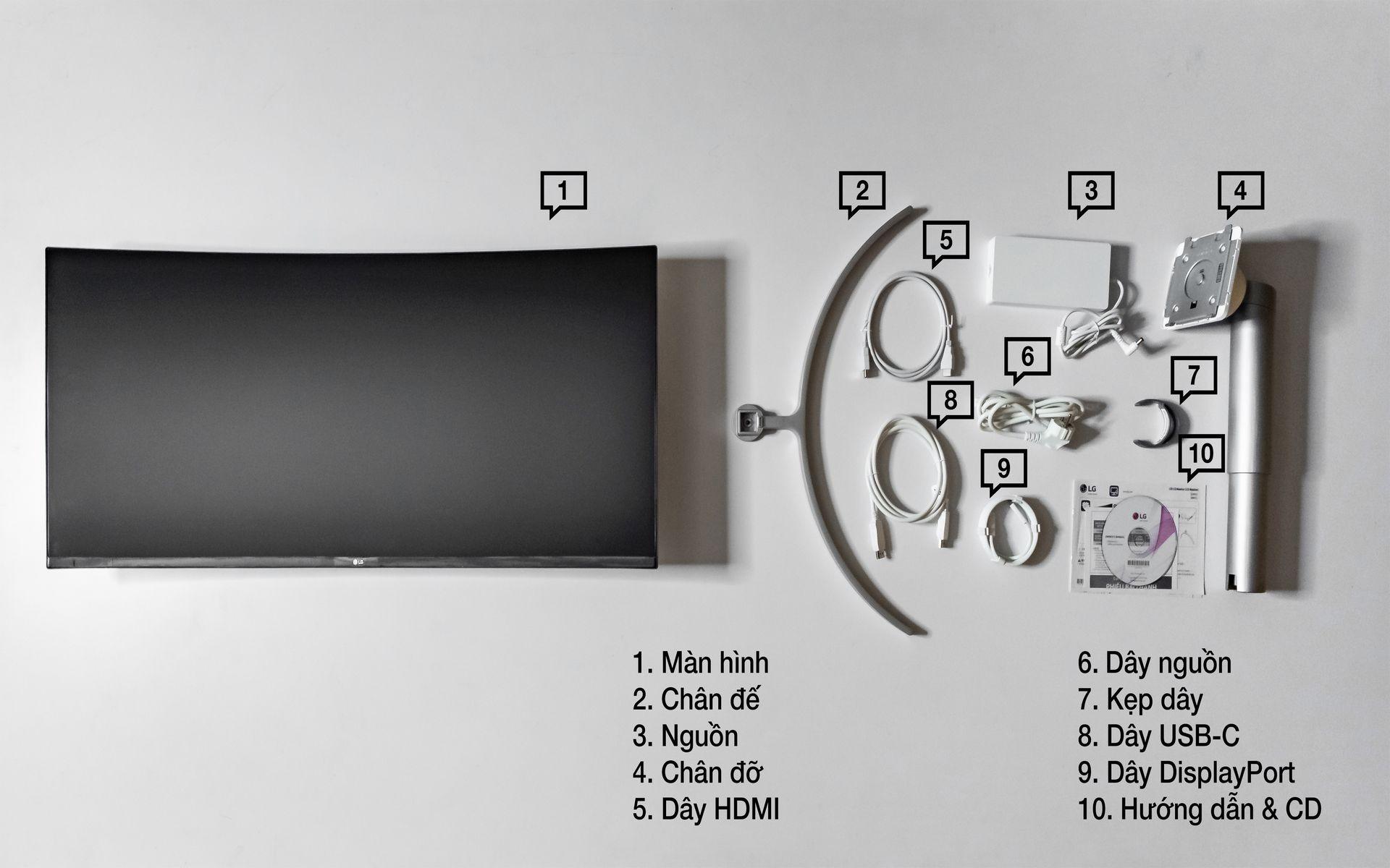 màn hình LG 38WN95C-W