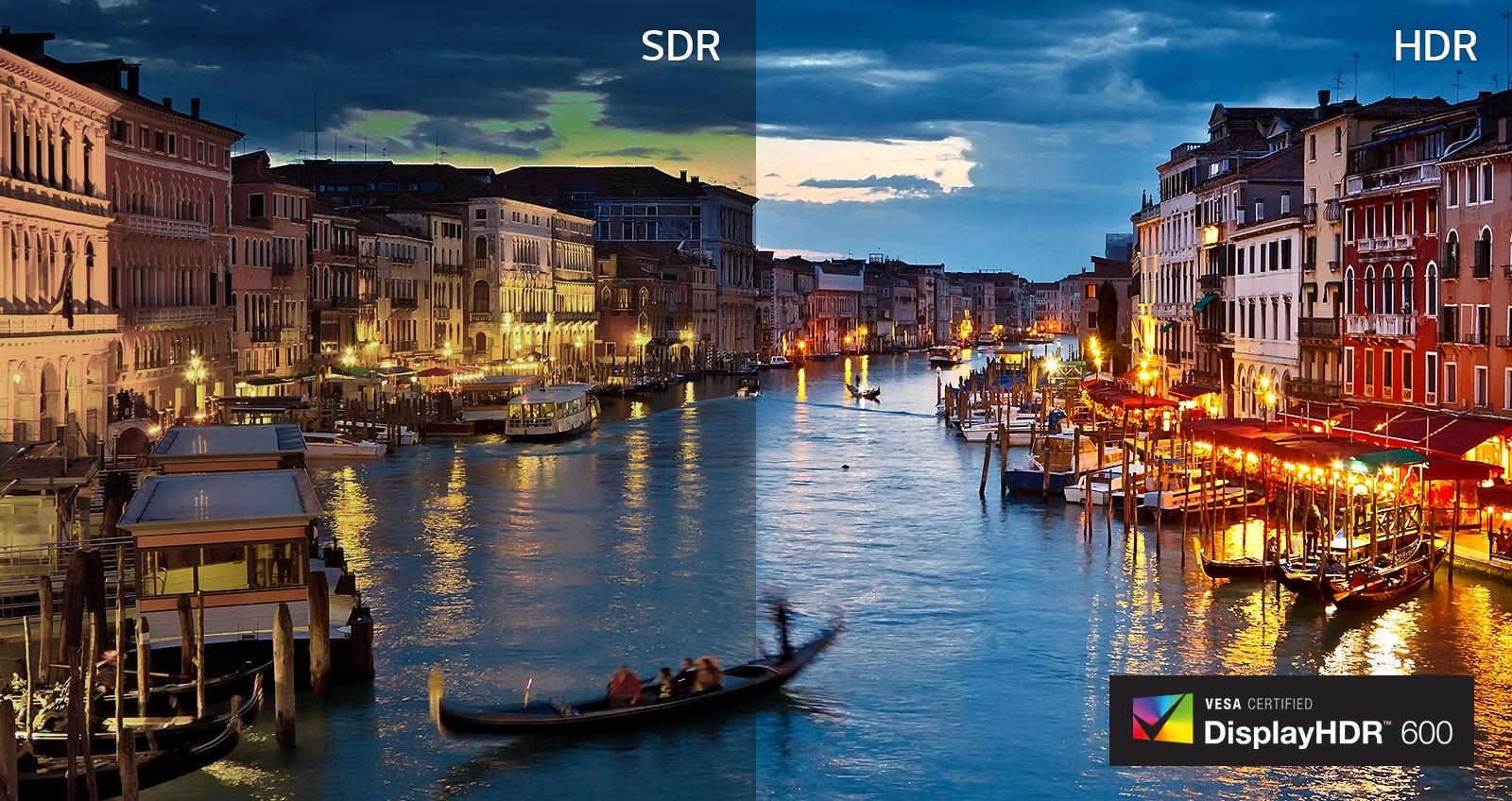 VESA DisplayHDR™ 600 - Rõ hơn và sáng hơn